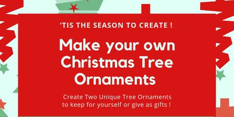 Christmas Tree Ornamant Workshop tickets