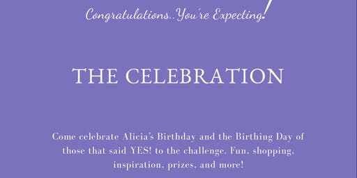 "Congratulations You're expecting....""The Celebration"""