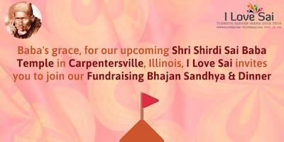 I Love Sai's fundraising Bhajan Sandhya for Shri Shirdi Sai Temple-Illinois