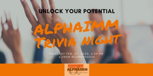 Alpha Trivia Event