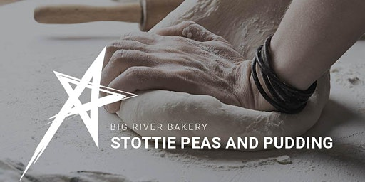 Proper Stottie and Brown Ale Peas Pudding