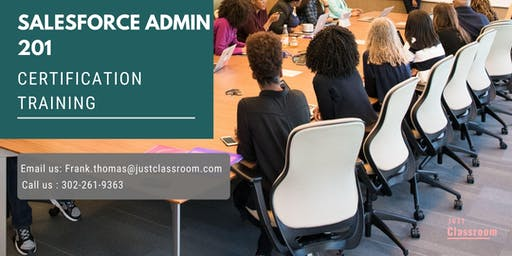 Salesforce Admin 201 Certification Training in Huntington, WV