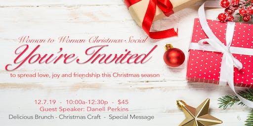 VGC Women's Christmas Social