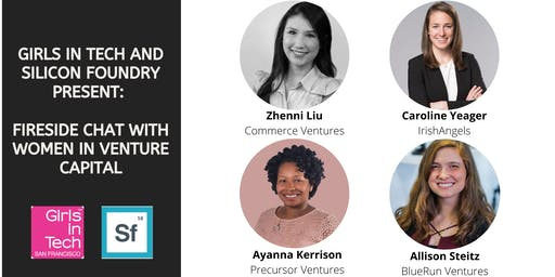 Girls in Tech and Silicon Foundry Present: Women in Venture Capital