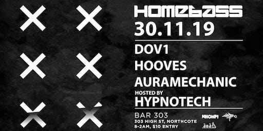 Homebass feat. DOV1 (Muti Music, USA), Hooves , Auramechanic & Hypnotech