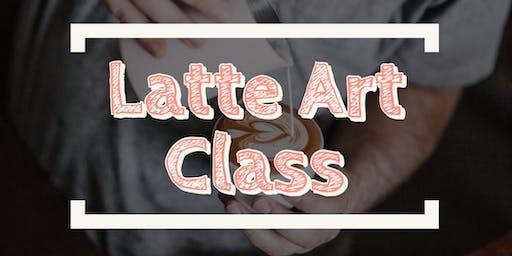 Latte Art Class by Vincent Do