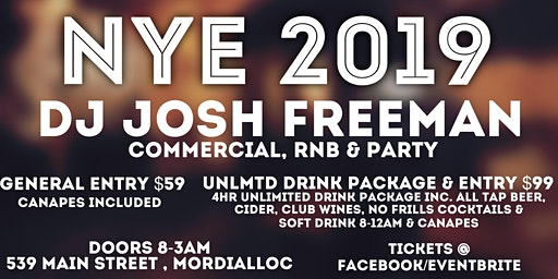 Mordy Supper Club NYE 2019