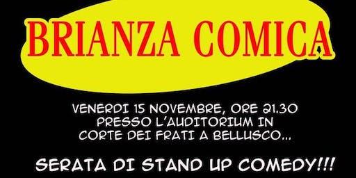 Brianza Comica - Serata di stand-up comedy a Bellusco - 15 novembre 2019