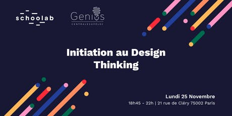 Genius CS x Schoolab - Initiation au Design Thinking billets