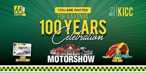 AA KENYA 100 CELEBRATIONS: Motorshow, Auto Clinic & Family Fun Day