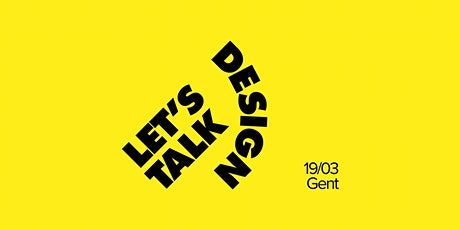 Let's Talk Design #24 — Gent tickets