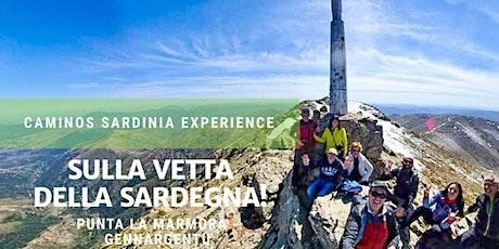 """Trekking verso la cima del Gennargentu in Sardegna: """"Punta La Marmora"""". biglietti"""