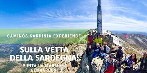 """Trekking verso la cima del Gennargentu in Sardegna: """"Punta La Marmora""""."""