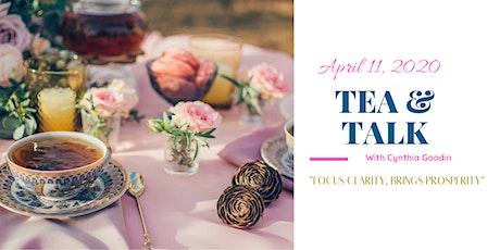Tea & Talk tickets