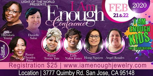 I Am Enough Conference