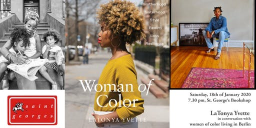 LaTonya Yvette in conversation with women of color living in Berlin