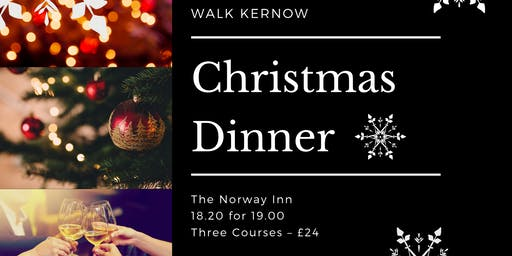 Walk Kernow Christmas Meal