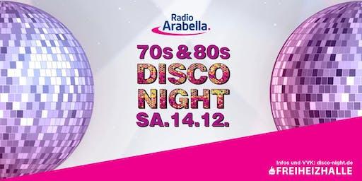 Radio Arabella Disco Night im Dezember