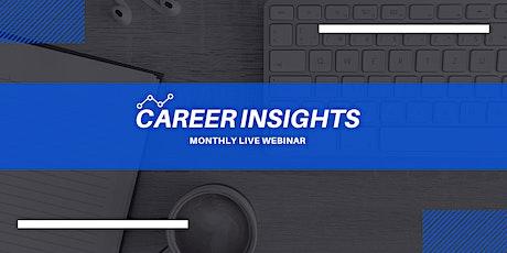 Career Insights: Monthly Digital Workshop - Split tickets