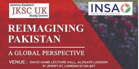 REIMAGINING PAKISTAN IN THE NEXT DECADE - A GLOBAL tickets