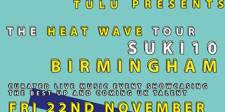 TULU Presents: Birmingham Urban Music Showcase tickets