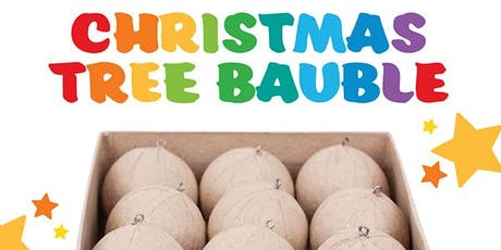 Design your own Christmas Tree Baubles tickets