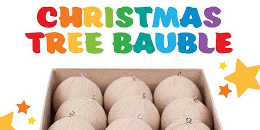 Design your own Christmas Tree Baubles