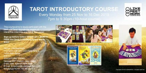 Tarot Introductory Course