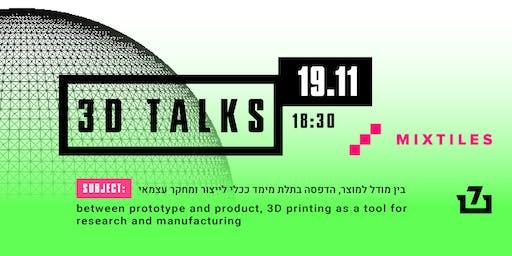 3D TALKS 19.11.19