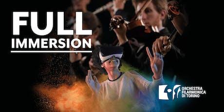 FULL IMMERSION: OFT incontra la Realtà Virtuale [Conservatorio 3 dicembre] biglietti