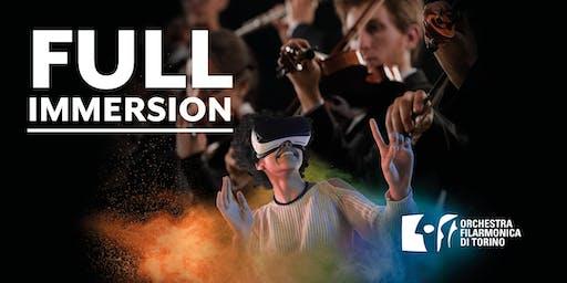 FULL IMMERSION: OFT incontra la Realtà Virtuale [Conservatorio 3 dicembre]