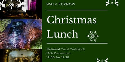 Walk Kernow Christmas Lunch -  National Trust Trelissick
