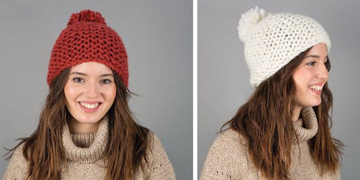 Learn to Knit for Absolute Beginners - Knit a Chunky Hat