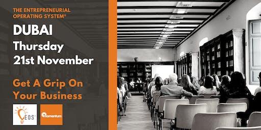 EOS® Dubai Workshop: Get A Grip On Your Business