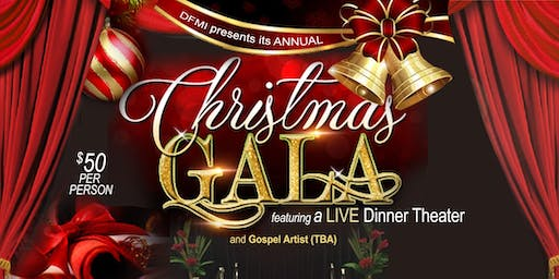 DFMI Annual Christmas Gala featuring a Live Dinner Theater