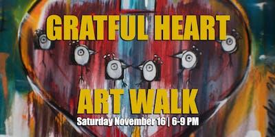 November Art Walk: Grateful Heart and Can Food Drive
