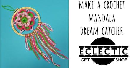 Make a crochet Mandala Dream Catcher (Adults) tickets