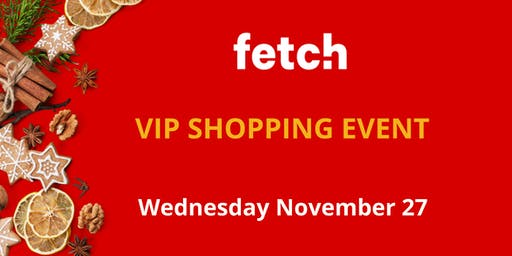 Fetch Christmas VIP Event