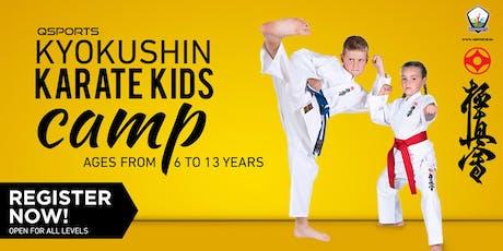 QSports Kyokushin Karate Camp biglietti