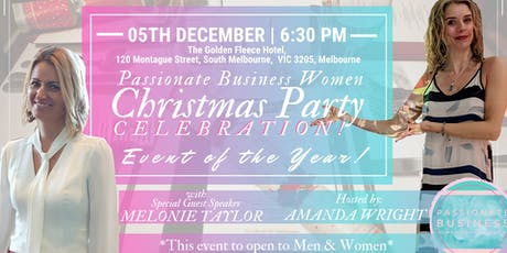 Passionate Business Women is BACK: Christmas Party 2019 tickets