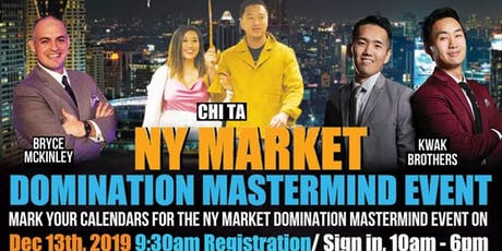 NY Market Domination Mastermind tickets