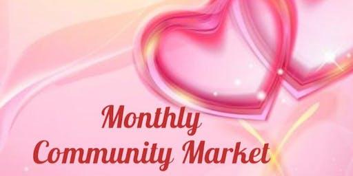 February Monthly Community Market