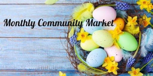 April Monthly Community Market