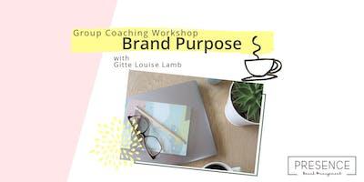 Brand Purpose Group Workshop