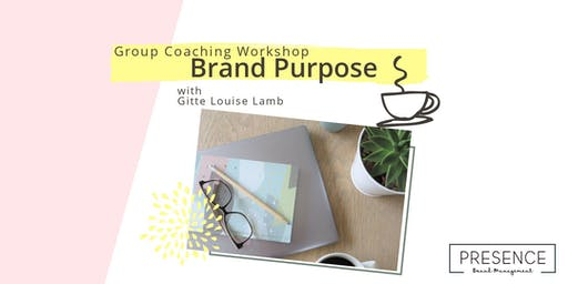 Brand Purpose Group Workshop