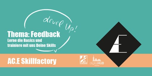Level Up – Feedback! Lerne die Basics und trainiere mit uns deine Skills.