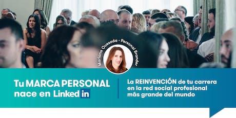 Tu MARCA PERSONAL nace en LinkedIn entradas