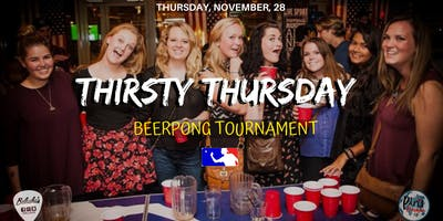 ✦Thirsty Thursday :  Beer pong tournament & International Party✦