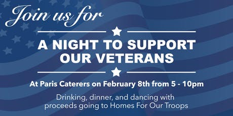 A Night To Support Our Veterans tickets