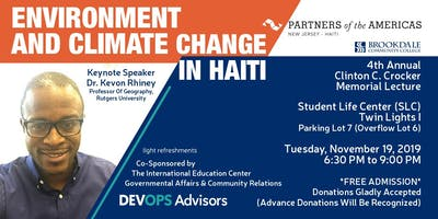 Environment & Climate Change in Haiti